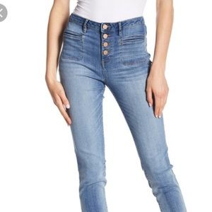 William Rast High waisted skinny jeans 25